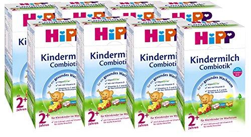 Hipp Kindermilch Combiotik 2+, ab dem 2. Jahr, 8er Pack (8 x 600g)