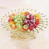 HLCUI Obstkorb Home Couchtisch Lagerung Dessert Regal Obstkorb