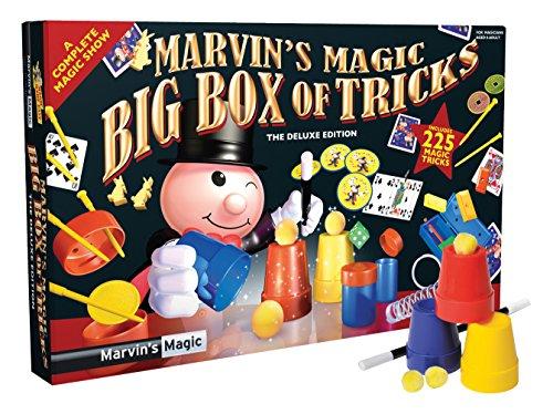 Marvins-Magic-54065-Zauberkasten-Marvins-erstaunliche-225-Zaubertricks-Spezial-Edition-ideal-fr-Vorfhrungen