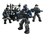 Mega Construx Toy - FDY74 - Call of Duty Surface Troops - 188 Piece 4 Figure Construction Playset