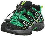 Salomon XA Pro 3D K, Unisex-Kinder Traillaufschuhe, Grün (Real Green/Black/Granny Green), 30 EU (11.5 Kinder UK)