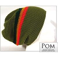 Crochet Berretto Cappello: cachi
