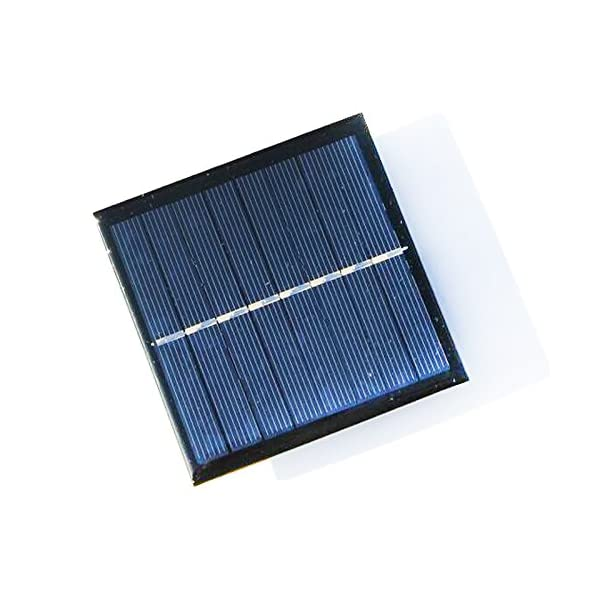 TOOGOO 1W 4V Rechargeable AA Battery Solar Cell Charger With Base For 2xAA Batteries Charging Directly