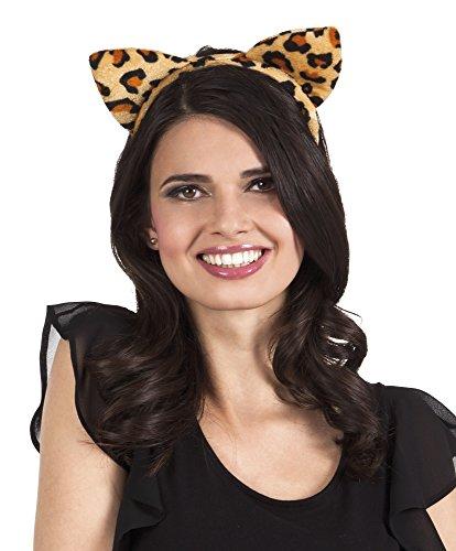 erdbeerclown- Tiger Zebra Leopard Haarreif Kostüm 3er Set, Khaki (Clown Fisch Erwachsene Kostüme)