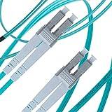 Cavo patch in fibra multimodale Duplex–50/125OM310Gb Aqua color–Beyondtech Pureoptics Series