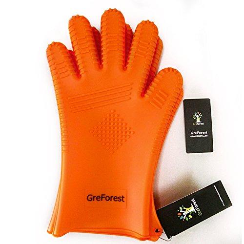 greforest-2-pezzi-guanto-da-cucina-in-silicone-isolamento-blu-33cm