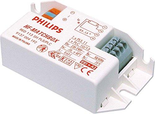 Preisvergleich Produktbild philips-hf-m 124SH rot TL-D 18W; TL524W, pl-24W 18L/