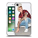 Official Justin Bieber Calendar Photo Purpose Soft Gel Case for Apple iPhone 7 / iPhone 8