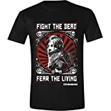 The Walking Dead Daryl Dixon Fight Poster Men's T-Shirt-Black, Camiseta Para Hombre