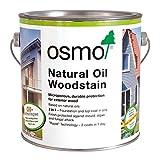 OSMO Holzschutz Öl-Lasur Effekt 2,5L Quarzsilber 1141