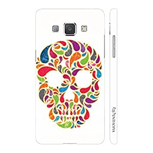 Enthopia Designer Hardshell Case Skull Candy Back Cover for Samsung Galaxy A8