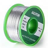 AUSTOR 0.6mm fil à souder sans plomb pour de soudure (Sn 99% Ag 0.3% Cu 0.7%), 100g