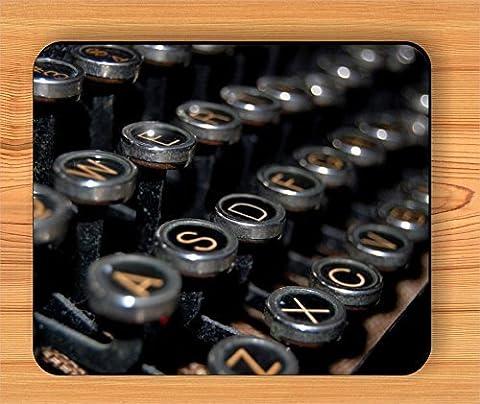 antique typewriter keys MOUSE PAD