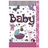 Susy Card 40009834 Grußkarte zur Geburt/Mädchen