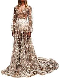 Amazon.it  Argento - Vestiti   Donna  Abbigliamento c7b9e84f30d