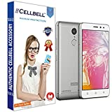 CELLBELL® Tempered Glass Screen Protector For Lenovo K6 Power With FREE Installation Kit