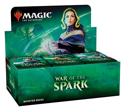 Magic the Gathering - War of The Spark - Boosters / Displays Auswahl | English | Sammelkartenspiel TCG, Booster:36er (Display) (Card Wars-karte-spiel)