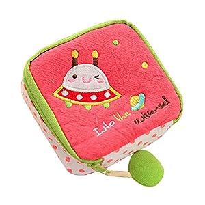 Sanitary Napkin Bag - TOOGOO(R) Girl's Cute Cartoon Sanitary Napkin Towel Pads Small Bag Purse Holder Organizer£¨red£©
