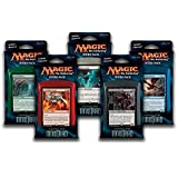 Magic the Gathering: MTG Shadows over Innistrad: Combo Intro Pack / Theme Deck (Set of All 5 Intro Packs / Decks including Alternate Art Promo Cards) by Magic: the Gathering