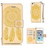 BoxTii Coque iPhone Se / 5S / 5, iPhone Se / 5S / 5 Coque en Cuir [avec Gratuit...