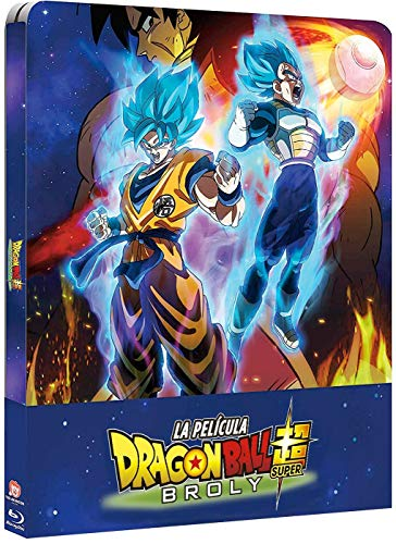 Dragon Ball Super Broly Bd Caja Metálica [Blu-ray]