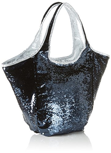 Xyxyx Sequins Bag, sac bandoulière Bleu foncé