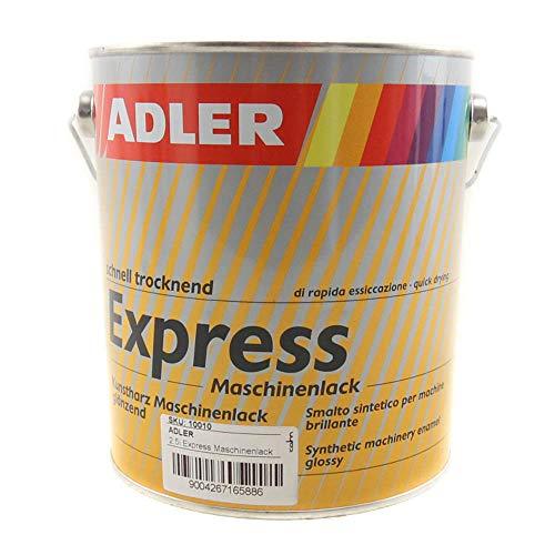 ADLER Express-Maschinenlack G40 66 Grün 2,5l Kunstharzlack Spritzlack Lack