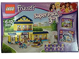 Lego friends 66455 pack 3 en 1 l 39 cole d 39 heartlake le - Lego friends l ecole ...