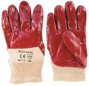 Ironside 354105 gants de travail pVC strickband oelfest brièvement immergé
