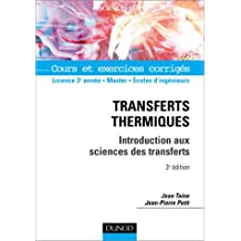 Transferts thermiques : Cours et exercices corrigés