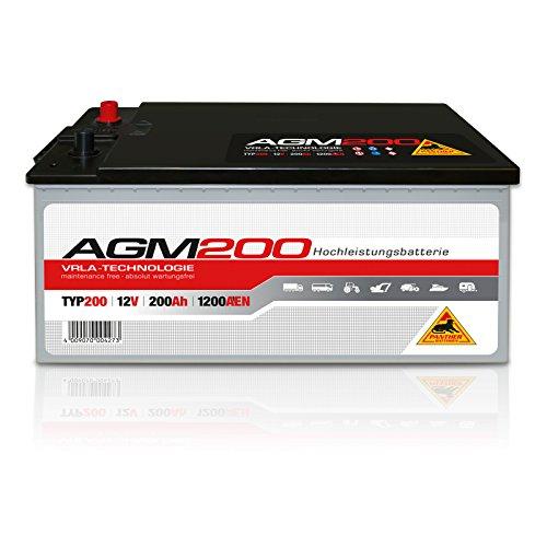 PANTHER AGM 200 Batterie 12V