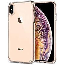 spigen Ultra Hybrid Funda iPhone XS MAX con Tecnología de cojín de Aire y protección híbrida