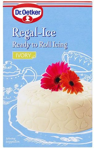 Dr. Oetker - Regal-Ice - Ready to Roll Icing - Ivory - 1Kg (Case of 6)