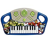 Marvel Avengers Assemble Electronic Keyboard Musical Piano Kids Childrens Boys Toy Organ Instrument