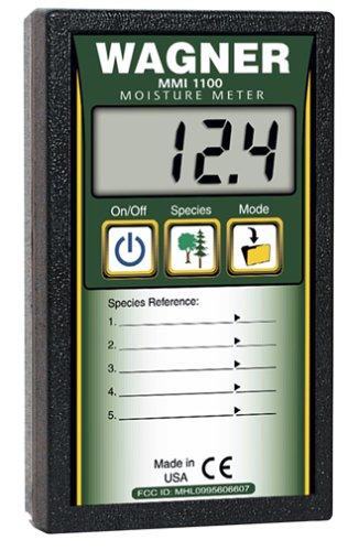 Pinless Moisture Meter (Wagner Meters MMI1100 5% to 30% Pinless Datalogger Wood Moisture Meter by Wagner Meters)