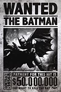 Posters: Batman Poster - Arkham Origins, Wanted (91 x 61 cm)