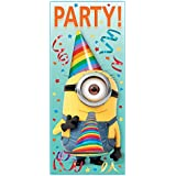 minions party deko set 7 teilig ich einfach unverbesserlich geburtstag party amazon. Black Bedroom Furniture Sets. Home Design Ideas