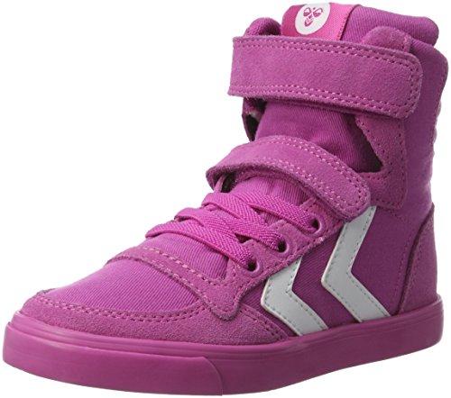 Hummel Mädchen Slimmer Stadil High-Top Pink (Rose Violet)