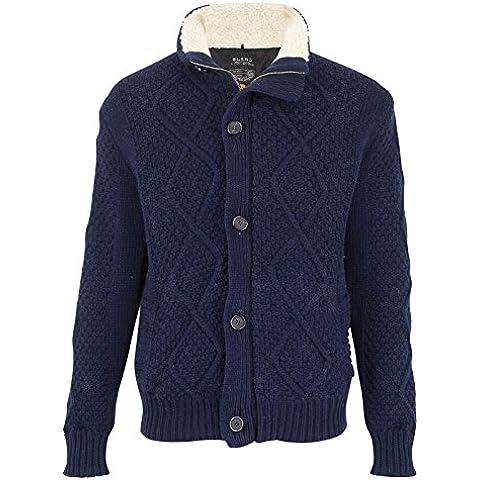Miscela da uomo invernali a maglia grossa, in lana, Cardigan Knitwear