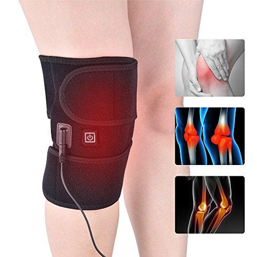 HailiCare Kalt / Wärme Therapie Kniebandage Wrap Unterstützung Thermotherapie Heizkissen Hot Compress für Knieverstauchungen, Krämpfe, Gelenkschmerzen, Arthritis Schmerzlinderung für Männer und Frauen
