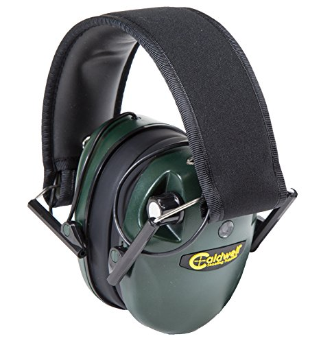 Caldwell Low Profile E-Max Electronic Cache-Oreilles, Mixte, Green