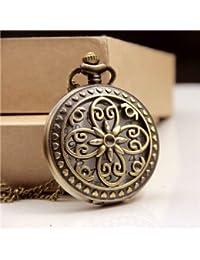 Lepakshi Cross Flower Vintage Bronze Zodiac Magic Wand Great Wall Cross Flower Pendant Pocket