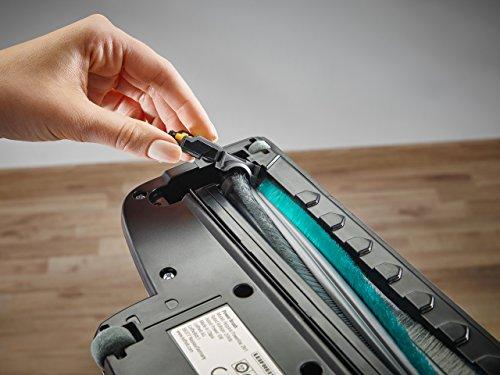 Leifheit Regulus PowerVac 2in1 Aspirador con batería, 125 W, Negro, Azul, Blanco