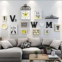 Marcos de fotos Photo Frames Foto Pared Decorativo Cuadro de combinación de Pared Juego de ponche