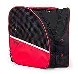 Sfr Skates Skate Backpack Tasche für Rollschuhe, Unisex, Schwarz (Black/Red), Einheitsgröße