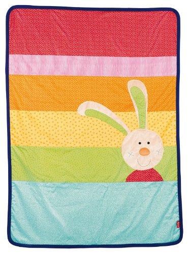 Preisvergleich Produktbild Sigikid 40579 Decke Rainbow Rabbit, 140 x 100 cm