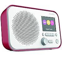 Pure Elan E3 Portable Digital DAB/DAB+ and FM Radio with Alarm - Red