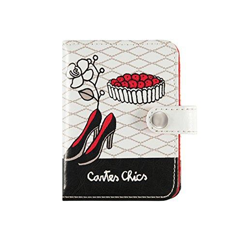 Porte-cartes FOLK Miss Chic - Derrière la porte
