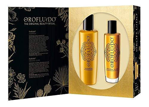Orofluido Coffret-Cadeau Original - Edition Spéciale Élixir 100 ml + Shampooing 200 ml