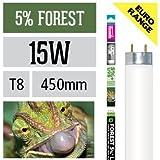 Arcadia 15 Watt D3+ Reptile Forest Lampe 5% UV-B